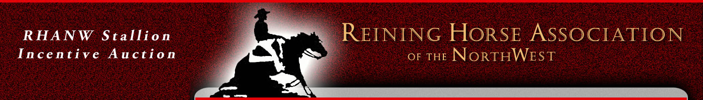 Reining Horse Association Northwest