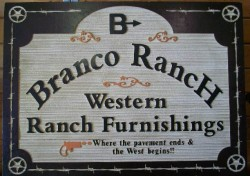 Branco Ranch Western Furniture