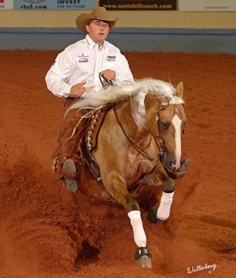Rocky Mountain Reining Horse Association Platinum Vintage at